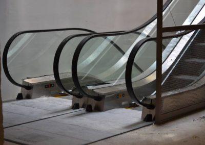 Barcelona – escales mecàniques i ascensor